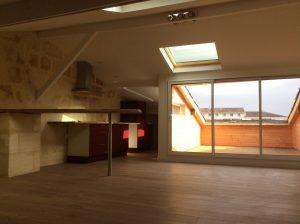 Bordeaux Nansouty – grand appartement sous les combles de 60m2 avec Terrasse – Idéal Investissement Locatif Vendu par du Parc Immobilier