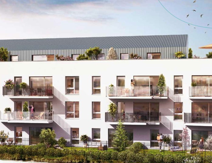Villenave d'Ornon – Appartement T2 – 40 m2 – 2ème étage, exposé EST
