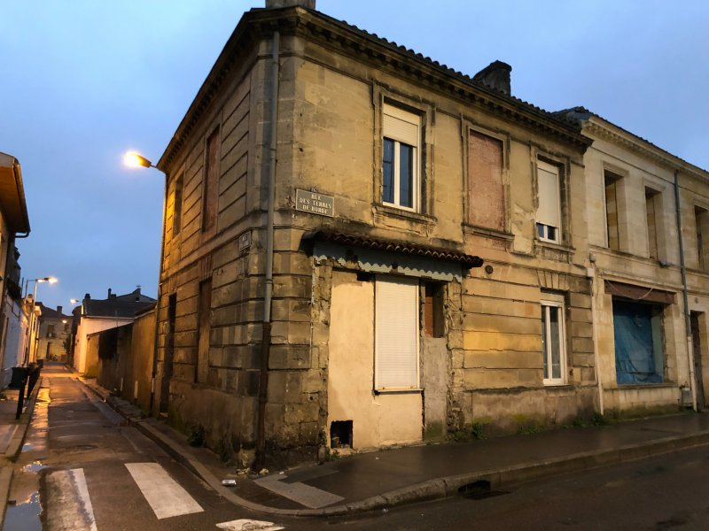 Bordeaux – Belcier – Ensemble Immobilier A rénover