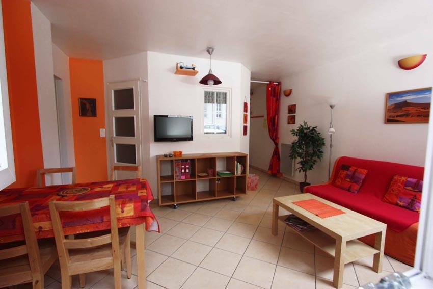 Bordeaux rue des gants appartement T2 meublé