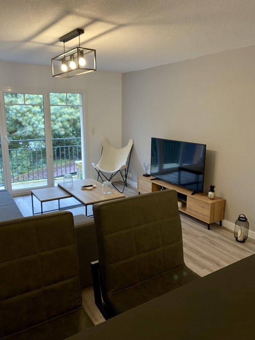 GUJAN MESTRAS – Appartement T2 meublé 40.50 M2 – STANDING