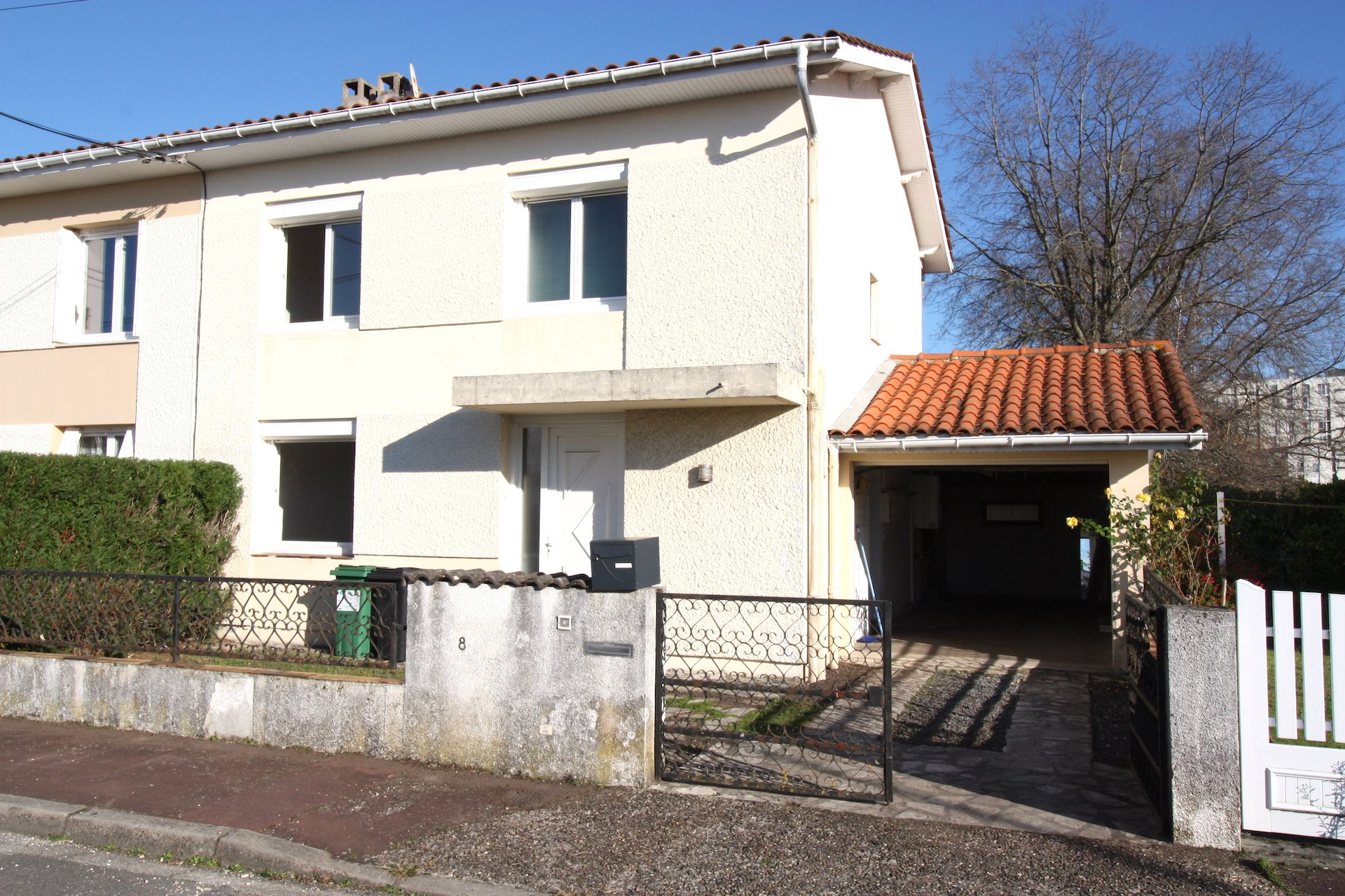 Mérignac – Maison 92 m2 avec jardin proche Tram