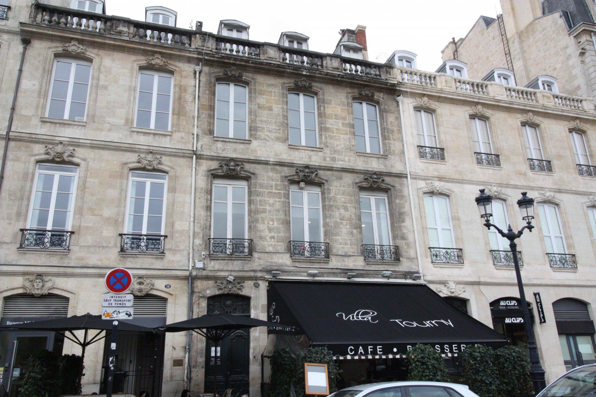 Bordeaux – Les Allées de Tourny – Bureaux T3 44m2