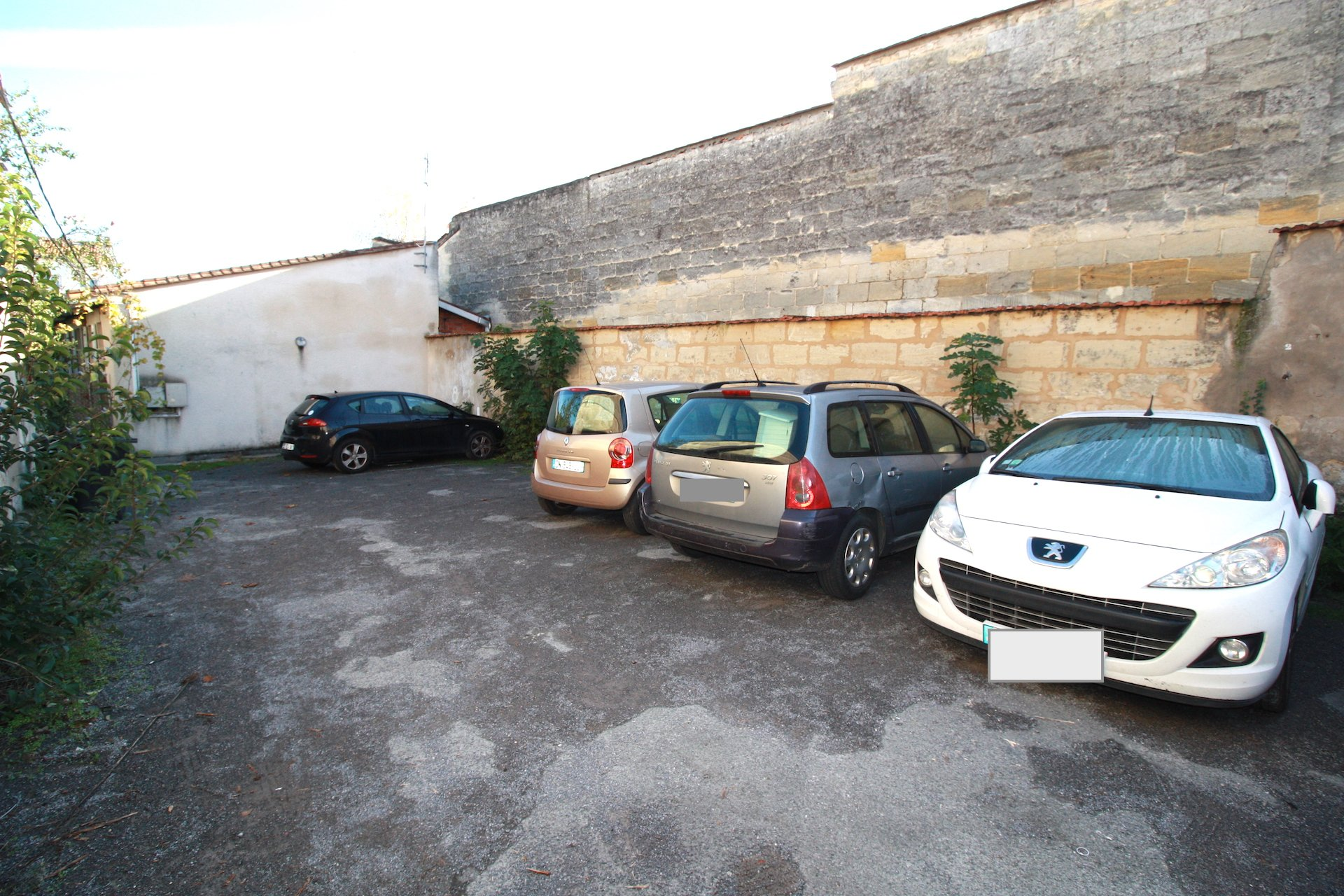 Bordeaux Nansouty – Rue St Jean – Place de parking
