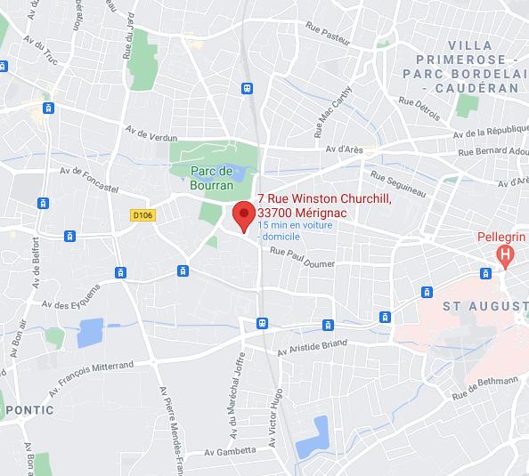 Mérignac – Parc de Bourran – T3 refait à neuf