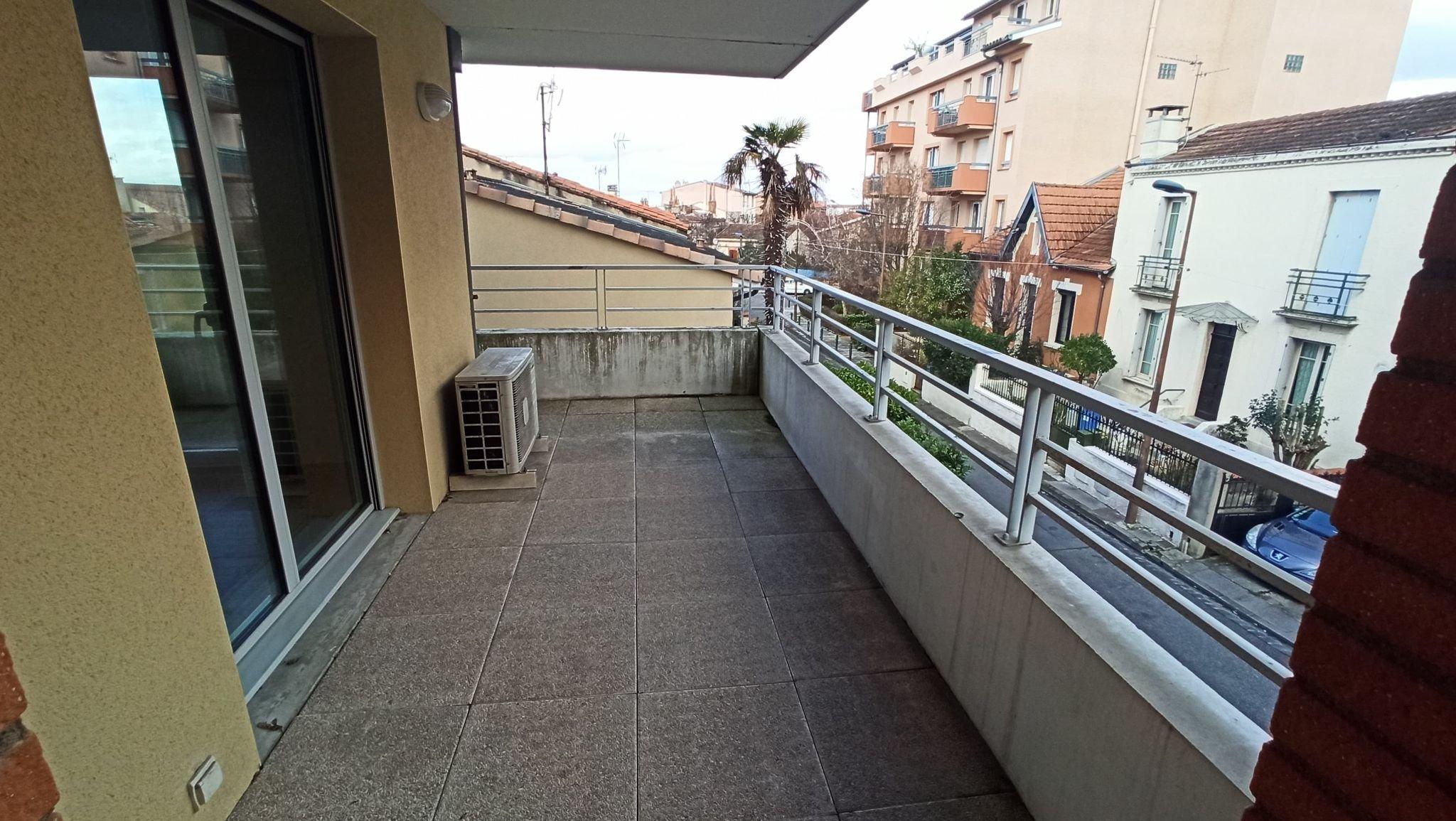 Toulouse – Gare SNCF Marengo – T3 avec terrasse et parking