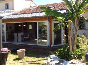 Talence St Genès – Très belle maison familliale type Echoppe de 165m2 Vendu par du Parc Immobilier
