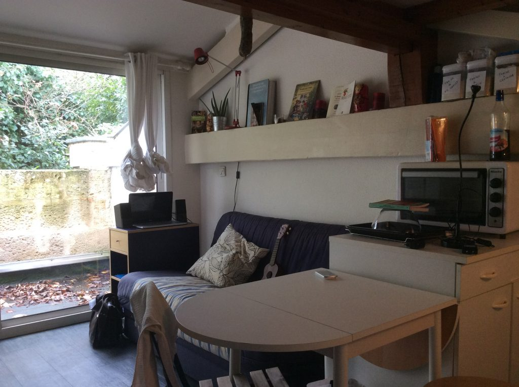 Bordeaux Victoire – très joli T1 bis de 18 m2 hors mezzanine – Idéal Investissement Locatif Vendu par du Parc Immobilier