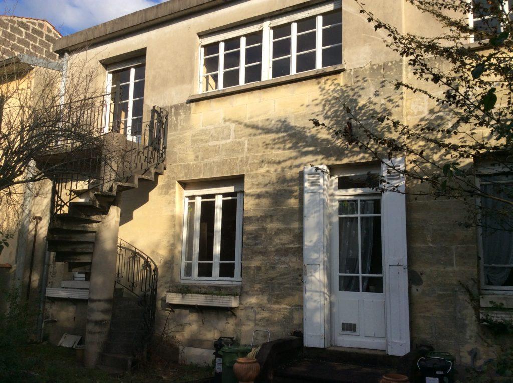 Bordeaux Judaïque – Maison Bourgoise – Vendu en 2018 Vendu par du Parc Immobilier