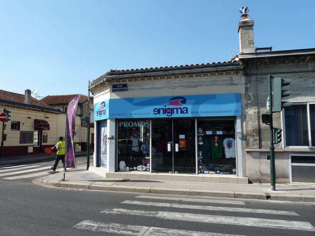 Bordeaux – Barrière de Pessac – Local commercial en Gestion Locative Vendu par du Parc Immobilier